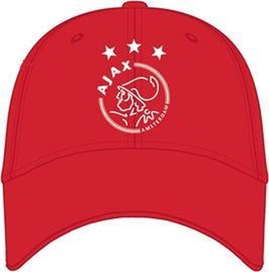 Accessoires Ajax cap rood logo volw. WoD
