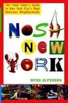 Boek cover Nosh New York van Myra Alperson