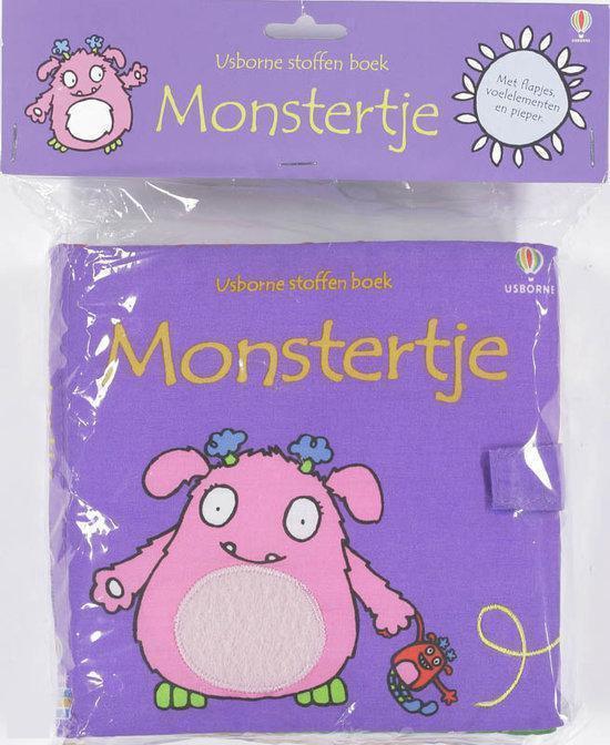 Usborne stoffenboek - Monstertje - Fiona Watt |