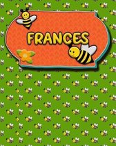Handwriting Practice 120 Page Honey Bee Book Frances