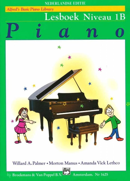 Boek cover Alfreds Basic Piano Library | Lesboek Niveau 1B van Willard A. Palmer / Morton Manus (Onbekend)