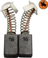 Koolborstelset voor Hitachi Hamer DMT-16N - 7x11x17mm