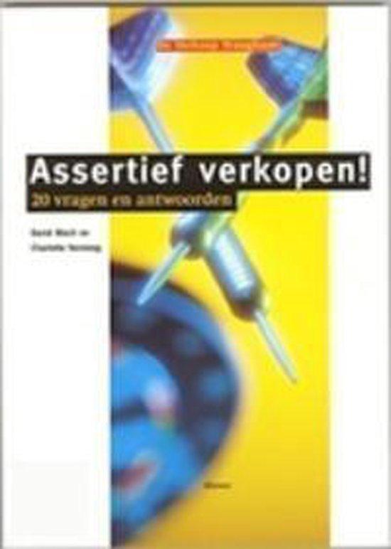 Assertief verkopen! 20 vragen en antwoorden