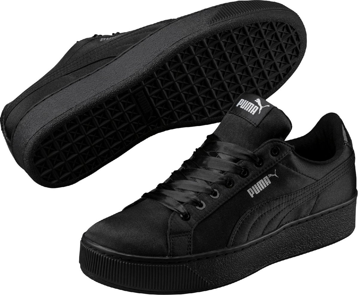 PUMA Sneakers Dames Vikky Platform EP - 365239 02  Black-Black - PUMA