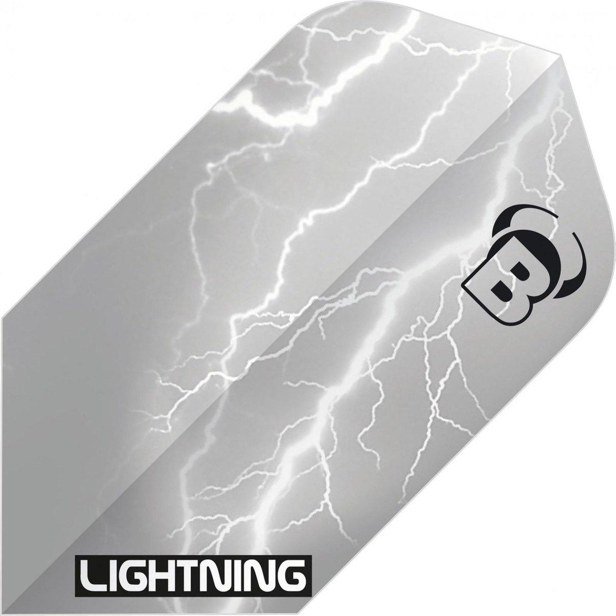 Bull's Flights Lightning Slim 100 Micron Grijs