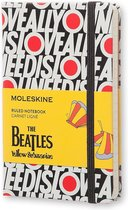 Moleskine notitieboek The Beatles All you need is love - Limited Edition - Pocket - Gelinieerd