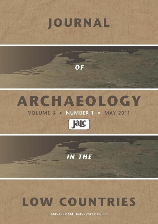 Boek cover Journal of Archaeology in the Low Countries van  (Paperback)