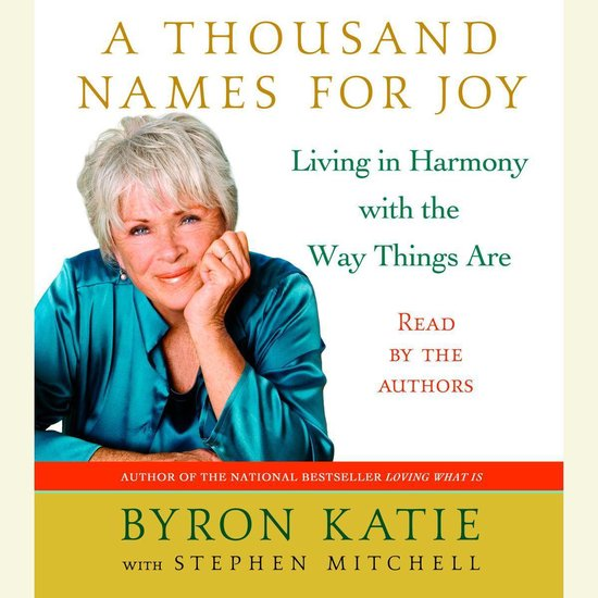 Boek cover A Thousand Names for Joy van Byron Katie (Onbekend)