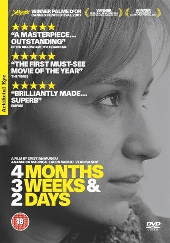Cover van de film '4 Months 3 Weeks 2 Days'