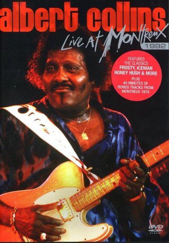 Cover van de film 'Albert Collins - Live At Montreux 1992'