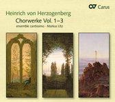 Choral Works Vol. 1-3