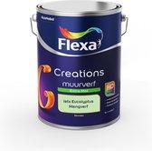 Flexa Creations Muurverf - Extra Mat - Mengkleuren Collectie - Iets Eucalyptus  - 5 liter