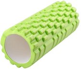 Fitness Foam Roller - Yoga Workout Roll - Pilates / Body Rug Massage Rol The Grid Roller - 33CM Groen