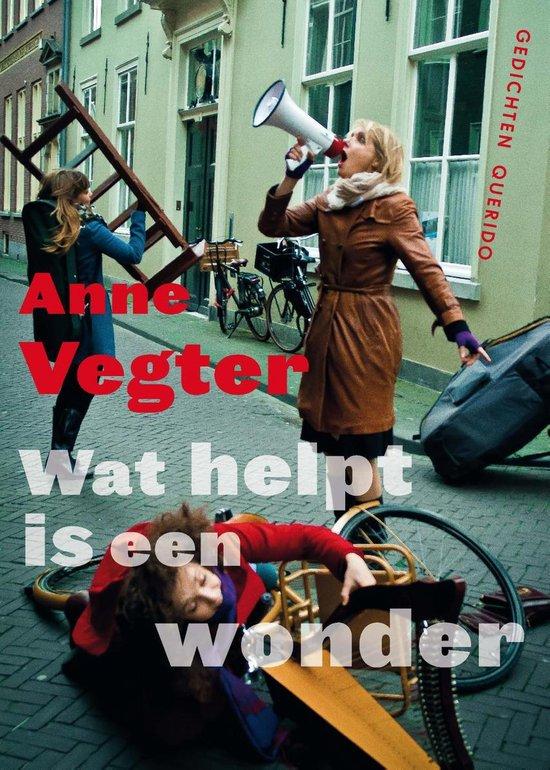 Wat helpt is een wonder - Anne Vegter |
