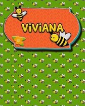Handwriting Practice 120 Page Honey Bee Book Viviana