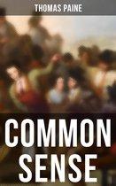 Boek cover Common Sense van Thomas Paine (Onbekend)