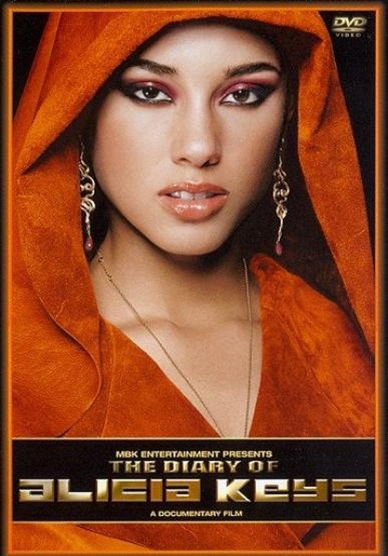 Cover van de film 'Alicia Keys - Diary of'