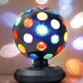 Discobal LED Zwart 15 Cm