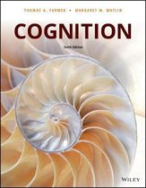Boek cover Cognition van Thomas A. Farmer