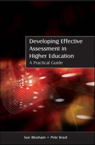 Developing Effective Assessment in Higher Education