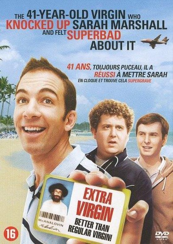 Cover van de film '41 Year Old Virgin Who Knocked Up Sarah Marshall And Felt Superbad About It'
