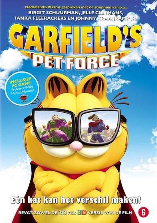 Cover van de film 'Garfield's Pet Force'