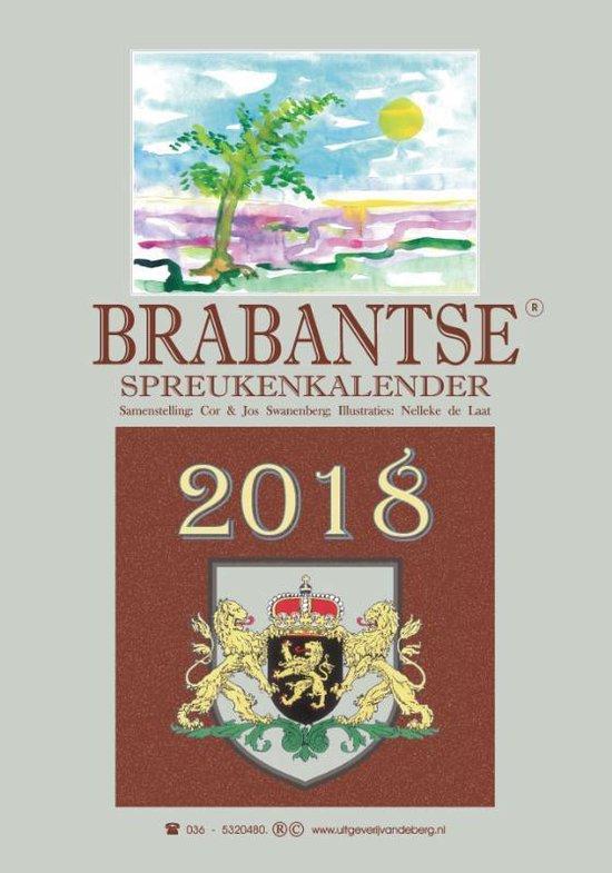 Brabantse spreukenkalender 2018 - Cor Swanenberg |