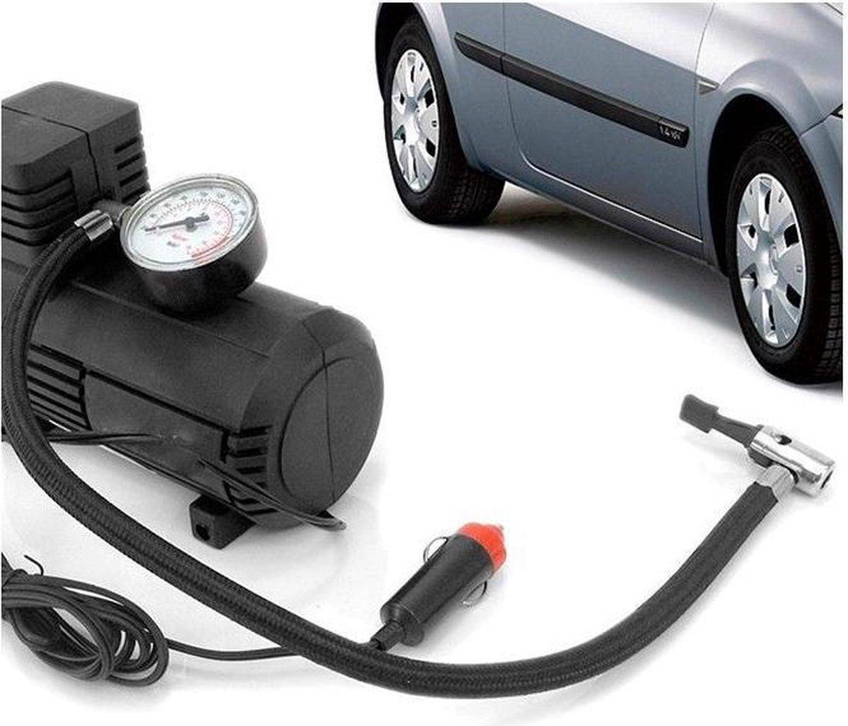 Luchtcompressor 12V incl. accessoires - compressor voor de auto