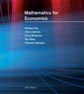 Boek cover Mathematics for Economics van Michael Hoy (Paperback)