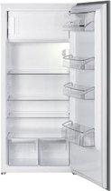 Smeg S7192CS2P Ingebouwd 189l A++ Grijs, Wit combi-koelkast