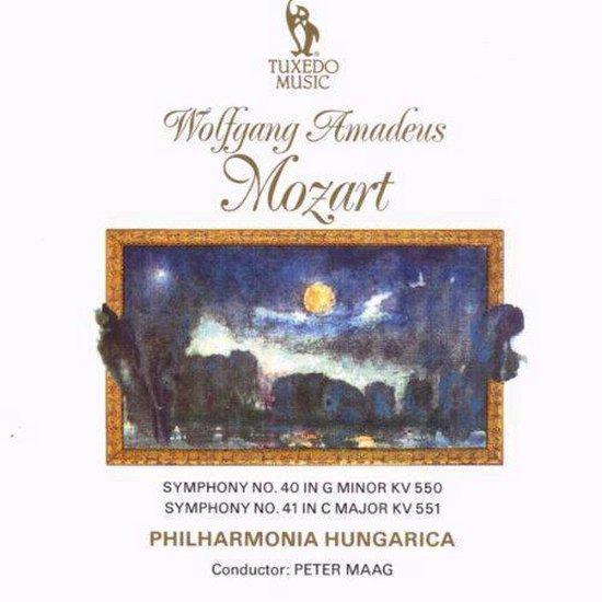 Symphony No 40 In G Minor Rv550 & 4