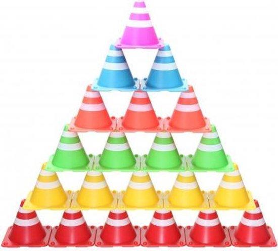 Afbeelding van het spel Stapel Kegel - Stapel spel - multi kleuren