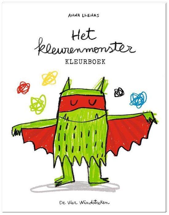 Boek cover Het kleurenmonster, kleurboek van Anna Llenas (Onbekend)