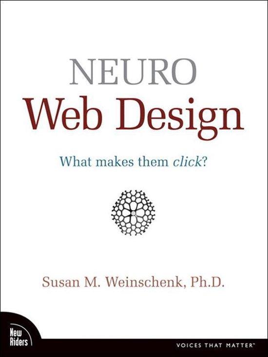 Boek cover Neuro Web Design van Susan Weinschenk (Onbekend)