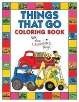 Things That Go Coloring Book with The Learning Bugs