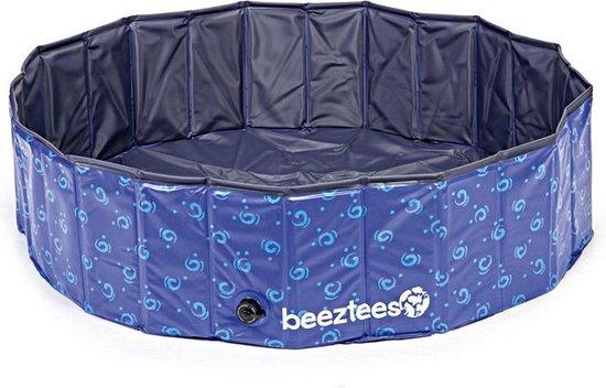 Beeztees Doggy Dip - Hondenzwembad - Blauw - 120x120x30 cm