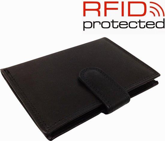 Safekeepers RFID Protected Anti skim - Portemonnee - Zwart