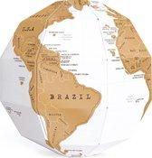 Luckies Kras Wereldkaart - Scratch Wereldbol