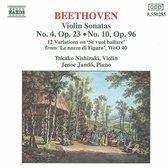 Beethoven: Violin Sonatas 4&10