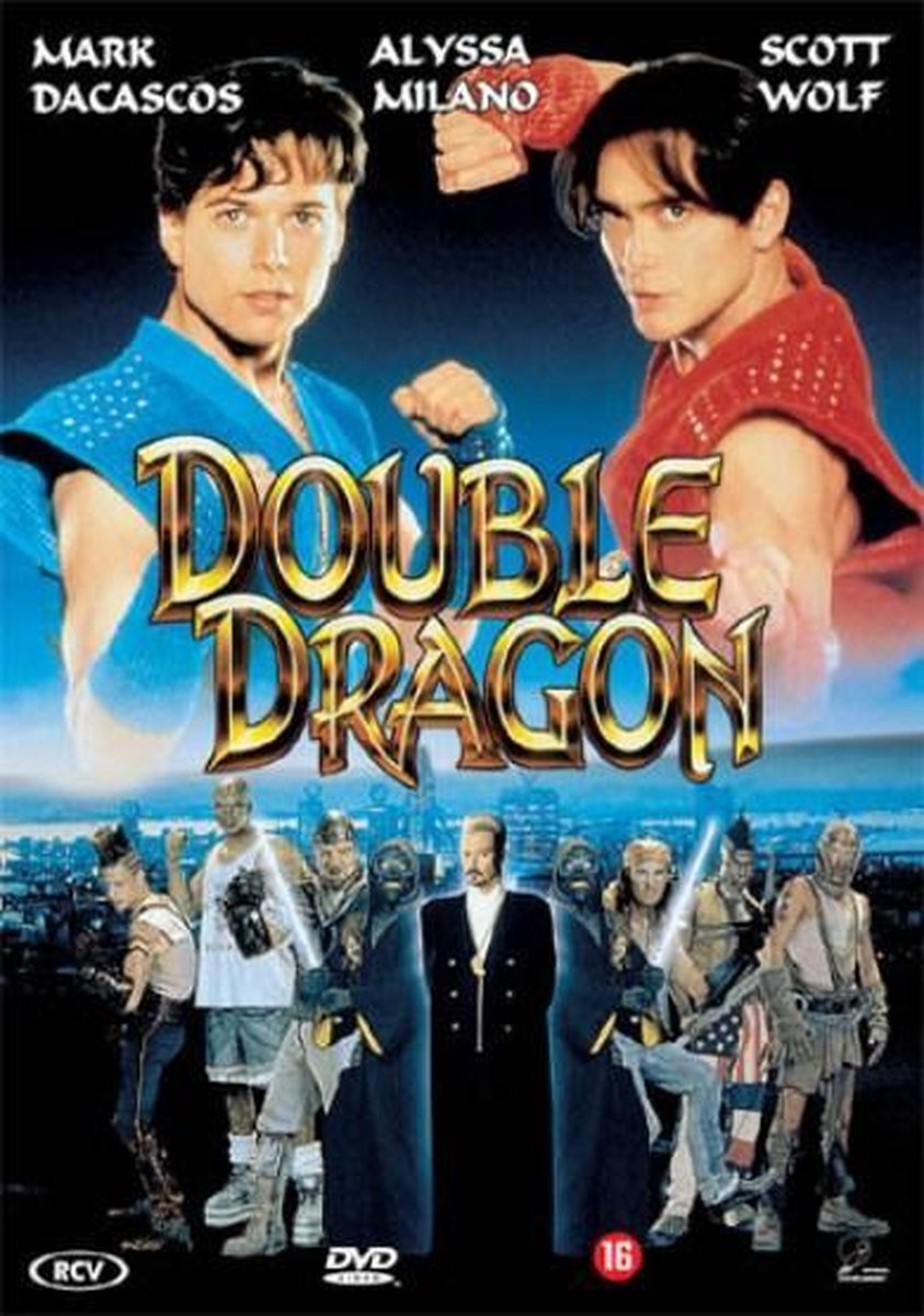 Bol Com Double Dragon Dvd Alyssa Milano Dvd S