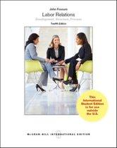 Boek cover Labor Relations (Intl Ed) van John Fossum