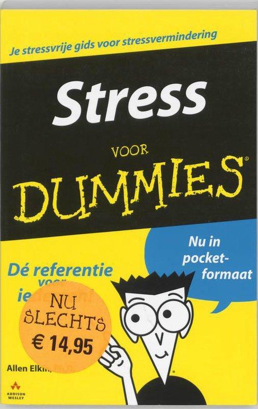 Stress Voor Dummies - A. Elkin |