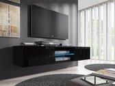 TV Meubel Glow 1 - Zwart - 160 cm