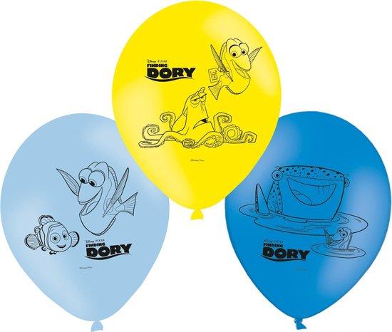 Ballonnen 28cm Finding Dory (6 stuks)