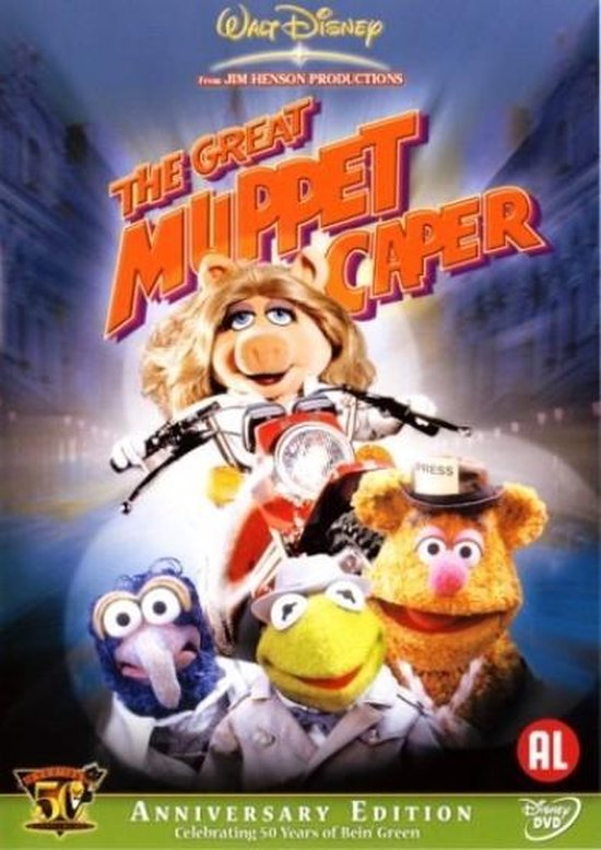 Cover van de film 'The Great Muppet Caper'
