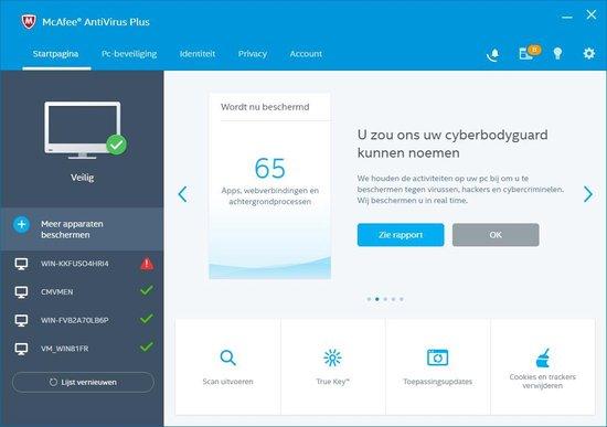 McAfee AntiVirus - 1 Apparaat - 1 jaar - Nederlands - Windows