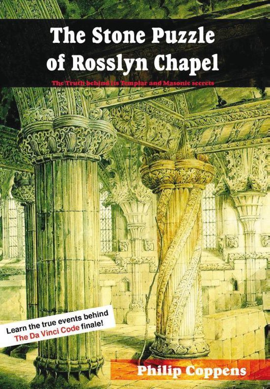 Boek cover Stone Puzzle of Rosslyn Chapel van Philip Coppens (Paperback)