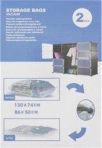 Vacuum opbergzakken - 2st - set - Vacuümzakken - 1
