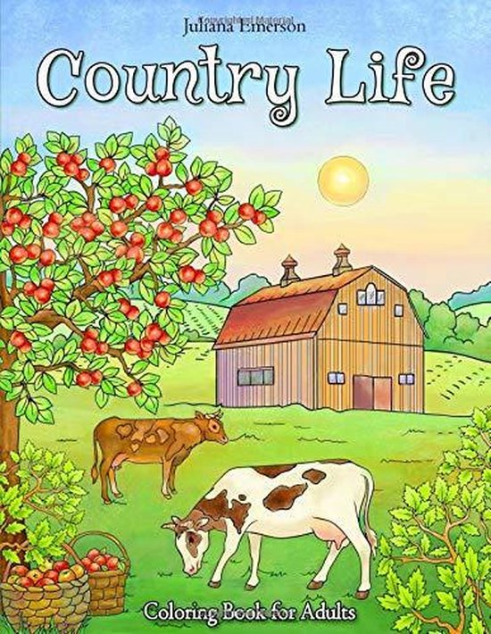 Afbeelding van Country Life Coloring Book for Adults