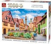 Afbeelding van Puzzel 1000 Stukjes ROTHENBURG. FRANCONIA BAVARIA, GERMANY speelgoed
